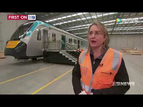 CRRC's self-developed subway train has just made its debut in Australia!