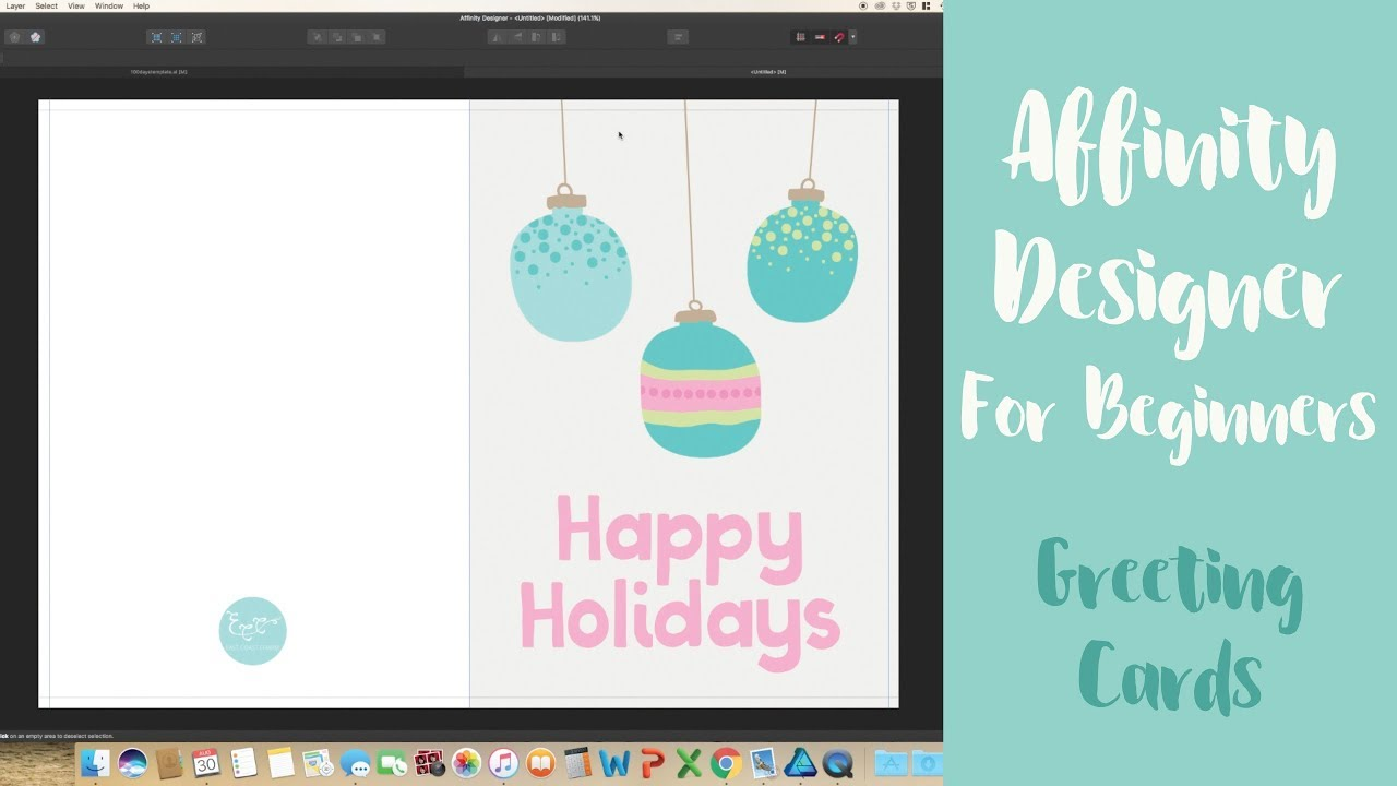 How To Create A Greeting Card In Affinity Designer