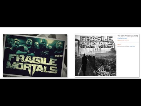 Fragile Mortals unveil release date + teasers for new album The Dark Project out July 13th!
