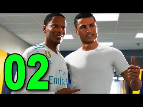 FIFA 18 The Journey 2 - Part 2 - CRISTIANO RONALDO IS A FAN!