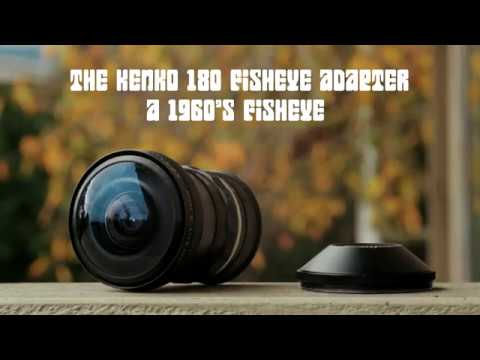 Kenko 180 Degree Fisheye Adapter (Hal 9000) - Lens Test