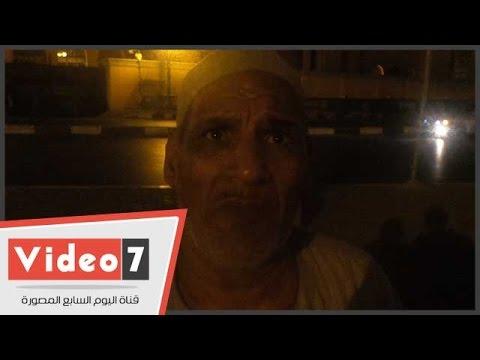 اليوم السابع : بالفيديو.. مواطن يناشد رئيس حى السلام بترخيص كشك فاكهة