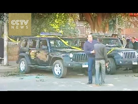 Six police killed and three wounded in Cairo bomb blast