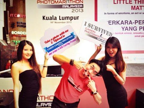 Cody Lim : Canon Photo Marathon Malaysia 2013 Highlights