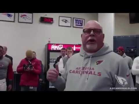 Bruce Arians final speech to team! Bruce Arians retirement speech to Cardinals coach cries to team