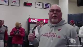 Bruce Arians final speech to team! Bruce Arians retirement speech to Cardinals coach cries to team