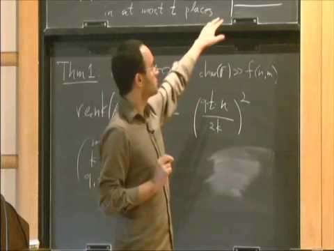 Rank Bounds for Design Matrices with Applications to Combinatorial Geometry... - Zeev Dvir