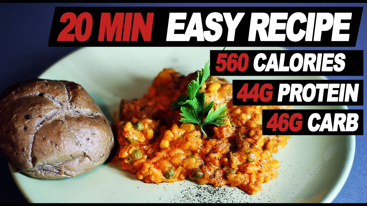 Recipe for Muscle Mass