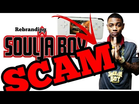 27f86b31f7196 Soulja Boy Gaming Console   NEW Merch   EXPOSE  - YouTube