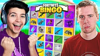 FORTNITE *NEW* RAINBOW BATTLE BINGO CHALLENGE!