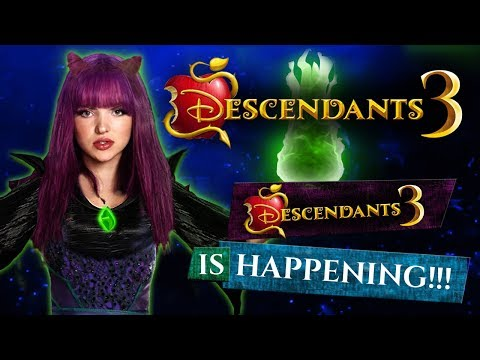 DESCENDANTS 3 Movie IS HAPPENING!!! Teaser clip, release date and plot!