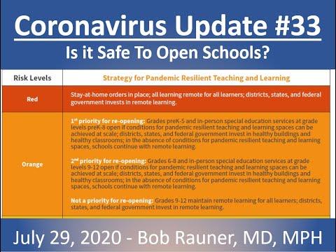 2020 July 29 Coronavirus Community Update V33 Recording