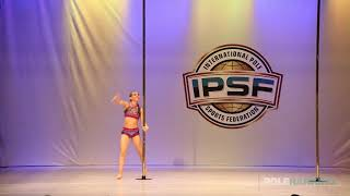 Junior Girls Lucia Sanchez Rangel of Colombia - IPSF World Pole Sports Championships 2018