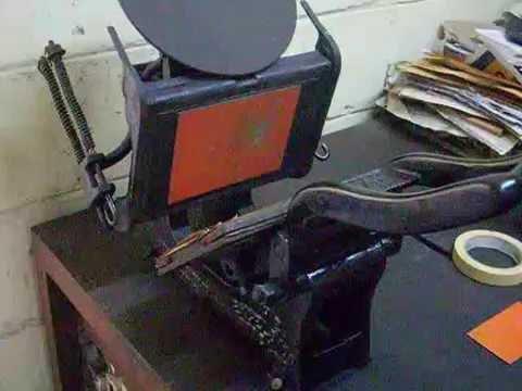 Maquina de impresion directa forex