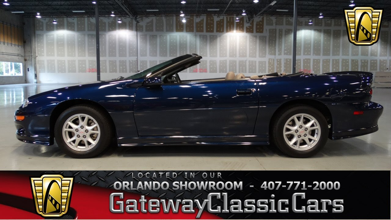 2002 chevrolet camaro z28 35th anniversary - youtube