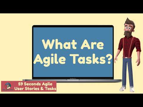 Agile User Stories And Tasks with 59 Second Agile