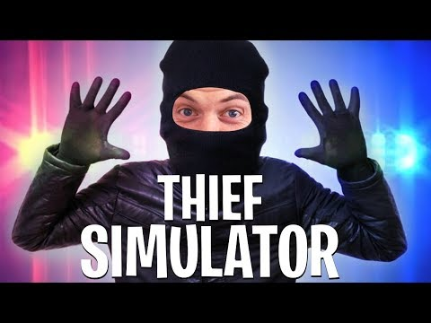 I AM THE ULTIMATE THIEF!! - THIEF SIMULATOR