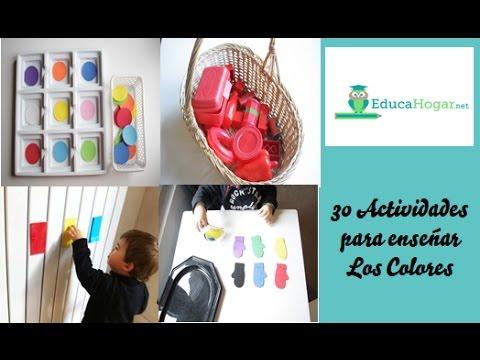 30 actividades para ense ar los colores ni os de 2 4 for Actividades pedagogicas para ninos de 2 a 3 anos