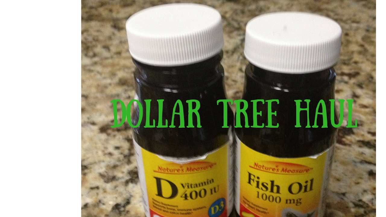 Dollar Tree Haul 2/17/2017 - Vitamins, Cleaning Products... - YouTube