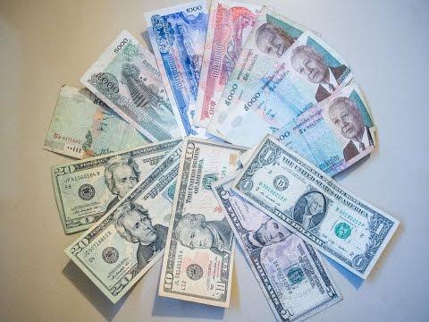 Khmer Riel vs US Dollars. Using Money In Cambodia. @nojokehoward