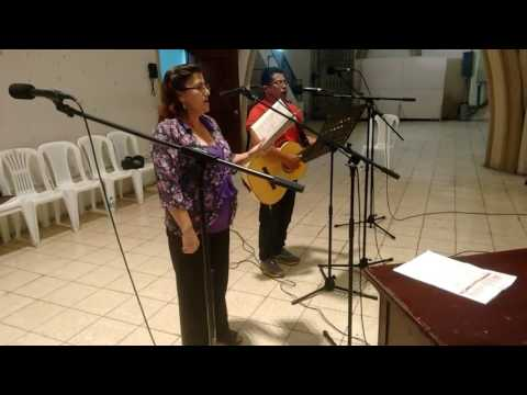 Somos un pueblo que e camina. Pilar Macías y Emiliano Barrera