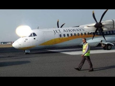 Jet Airways flight  ATR 72 Extreme Turbulence