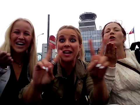 Krista Siegfrids and girls love Czech Republic!