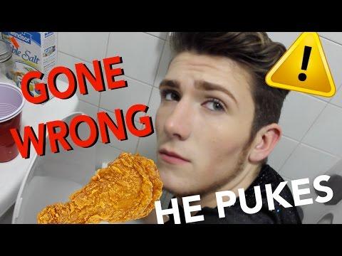 VEGAN EATS MEAT PRANK - ON BOYFRIEND (GONE WRONG)