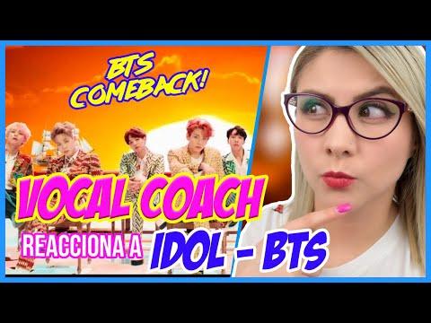 IDOL - BTS ¿ÉPICO?   VOCAL COACH REACCIONA   Gret Rocha