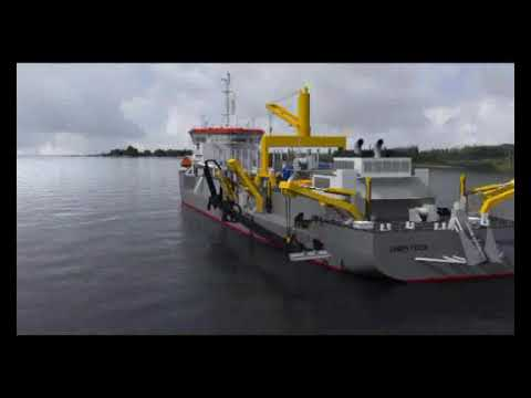 Jan de Nul - dredging the Panama Canal