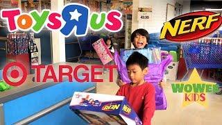 Toy Shopping at Toys R Us & Target | Nerf Guns