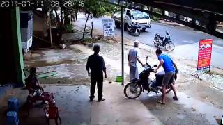 Văn Quan: Bắt đối tượng người Trung Quốc ăn trộm xe máy như phim hành động, Lạng Sơn
