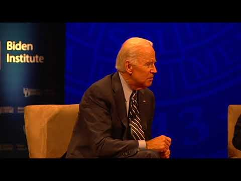 Joe Biden and John Kasich discuss political divides