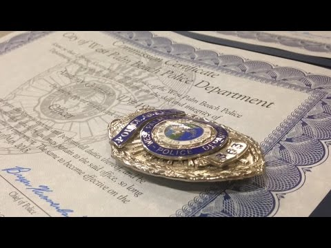 New West Palm Beach officers sworn in