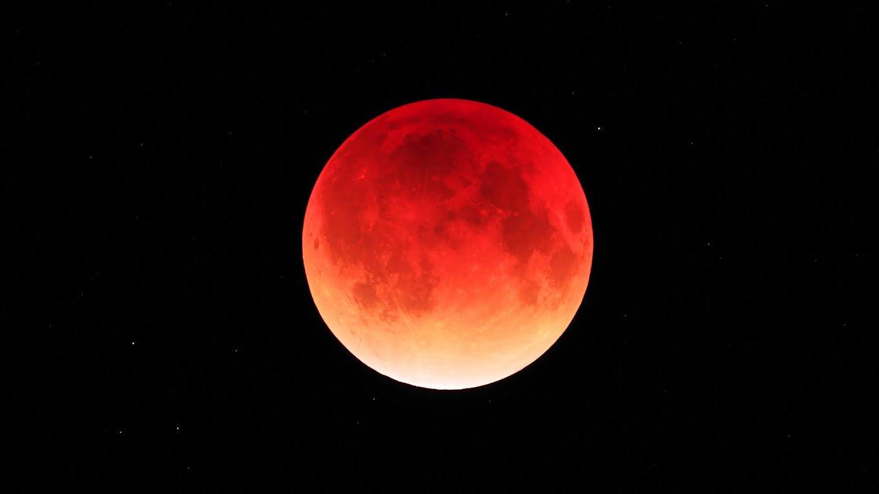 【2014.10.8】 皆既月食 日本 (Total moon eclipse) 【Jap】
