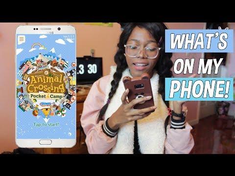 Whats on my phone 2018 ♡  Note 5 | Girly/Kawaii