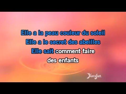 Karaoké Elle - Didier Barbelivien *