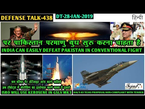 Indian Defence News:India on Pakistan,Isro to use Kerosene in GSLV-mk3,Delay in Tejas mk1a deal