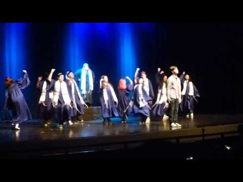 The Movie kiss scene from 13, The Musical at Santa Susana High School