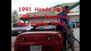 1991 Honda Beat Kei Roadster tour and drive