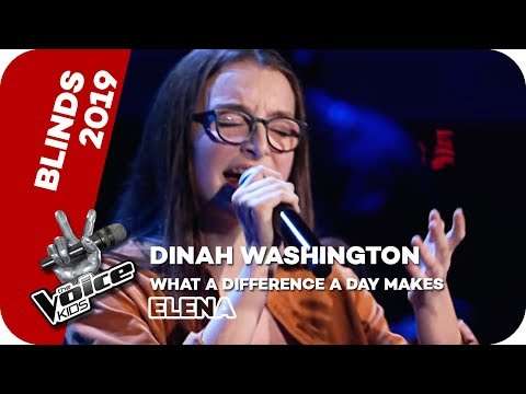 Dinah Washington: What A Difference A Day Makes (Elena) | The Voice Kids 2019 | SAT.1