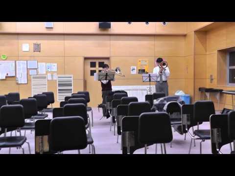 A Song for Japan Trombone Duet