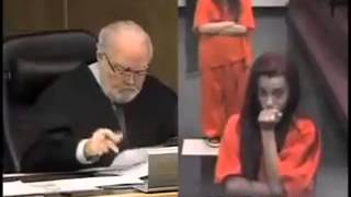 We need more judges like him, LMAO, stupid girl