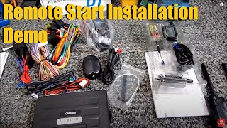 Compustar Remote Start and Security Installation Demonstration | AnthonyJ350