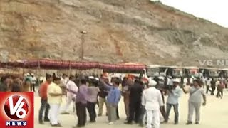 Ground Report On Polavaram Project Construction Works | V6 News