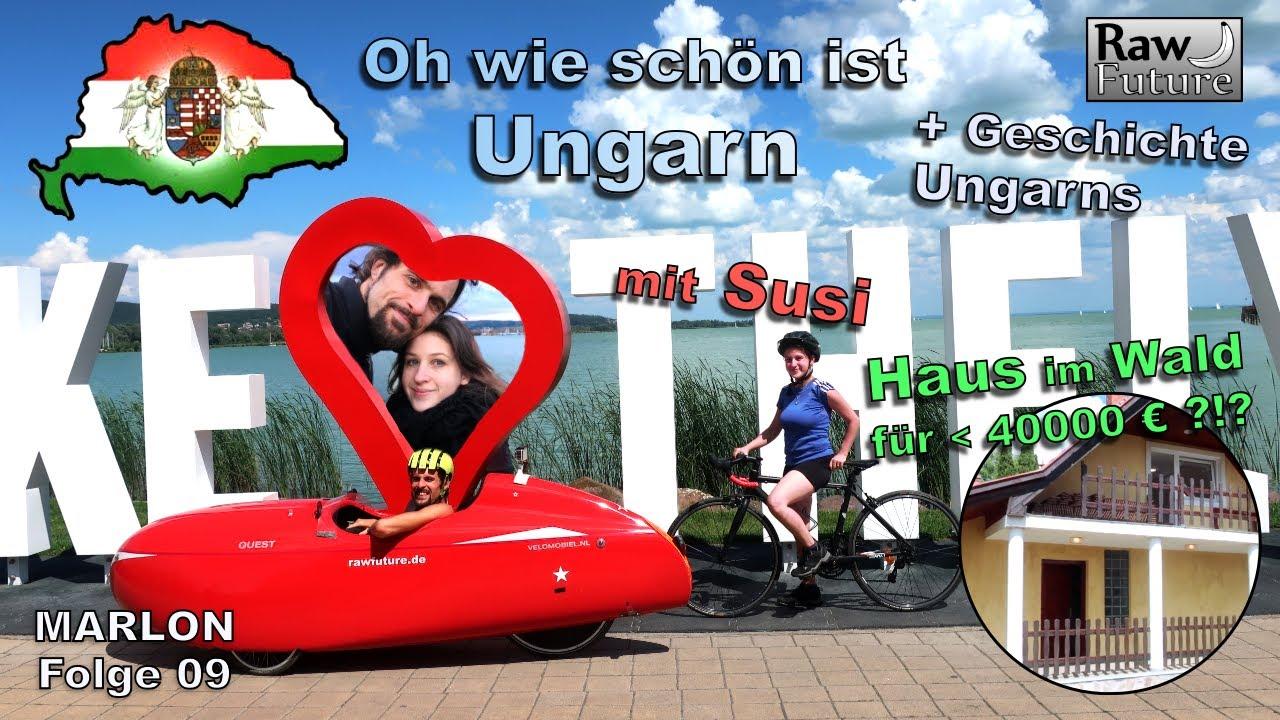 Unterwegs in Ungarn - der Balaton kurz vor Grenzöffnung! + Interessantes zur Geschichte Ungarns!
