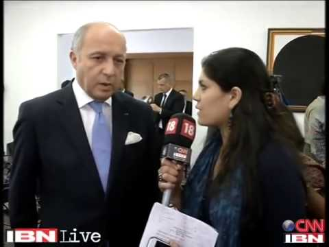Will discuss two way trade between India and France  French Foreign Minister
