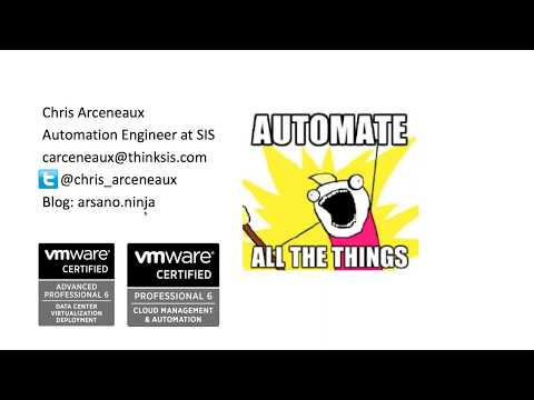 VMware vSphere Automation via Ansible and Gitlab CI with