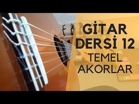 Temel Akorlar (C G D Akoru) Gitarda Notalar Gitar Dersi