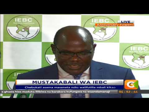 Defiant Chebukati wants Parliament to replace former commissioners